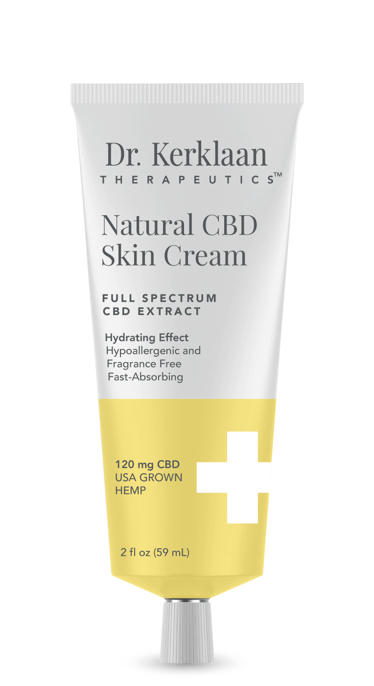 Dr. Kerklaan Therapeutics Natural CBD Skin Cream