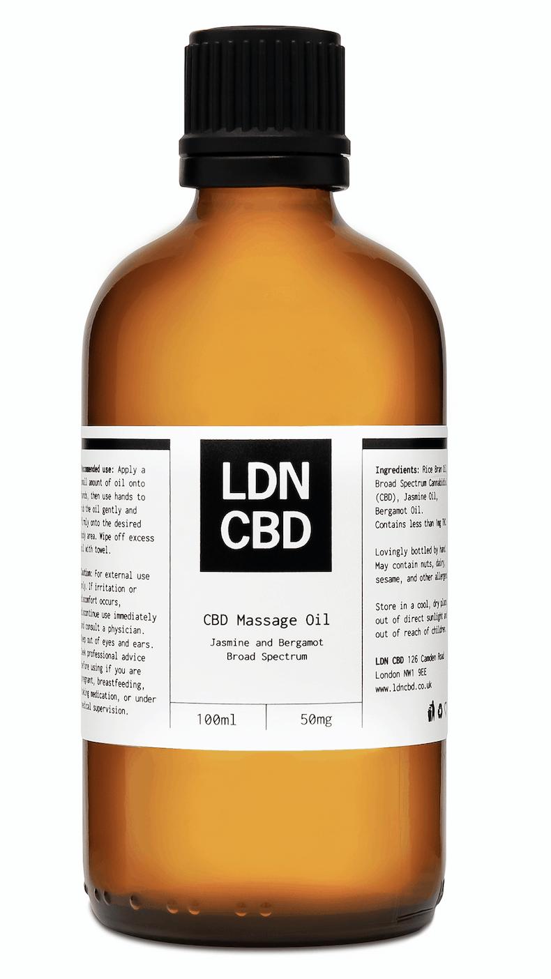 LDN CBD massage oil